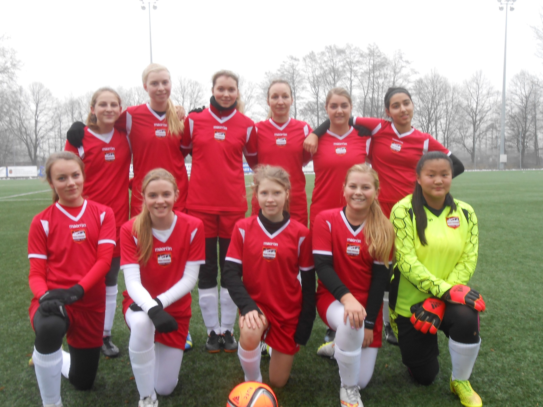 U16 girls riga united