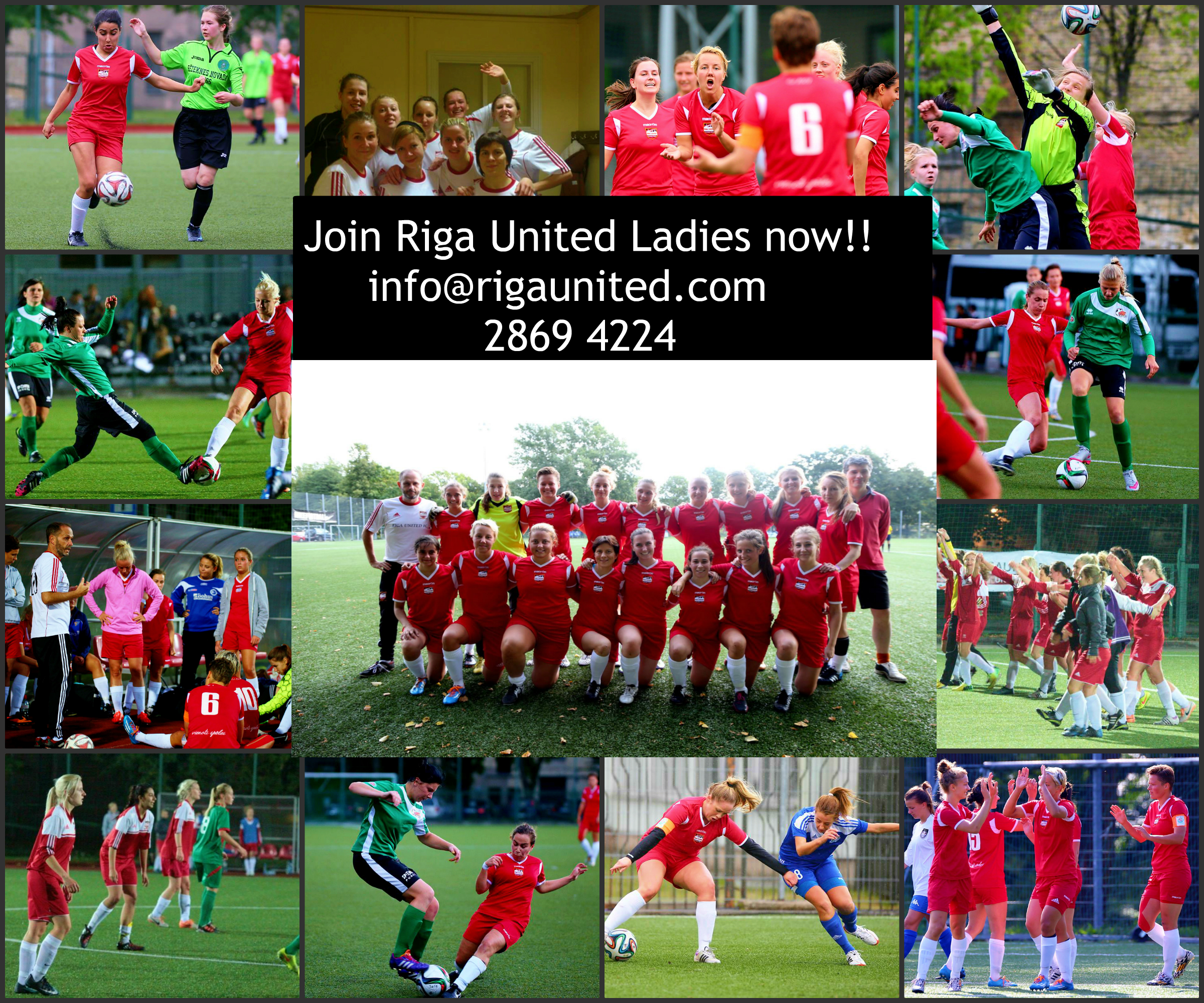 join riga united ladies