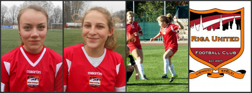 Riga United girls invited to train with Latvia U-17s