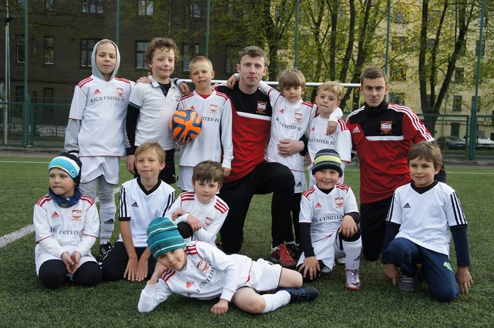 football latvia kids