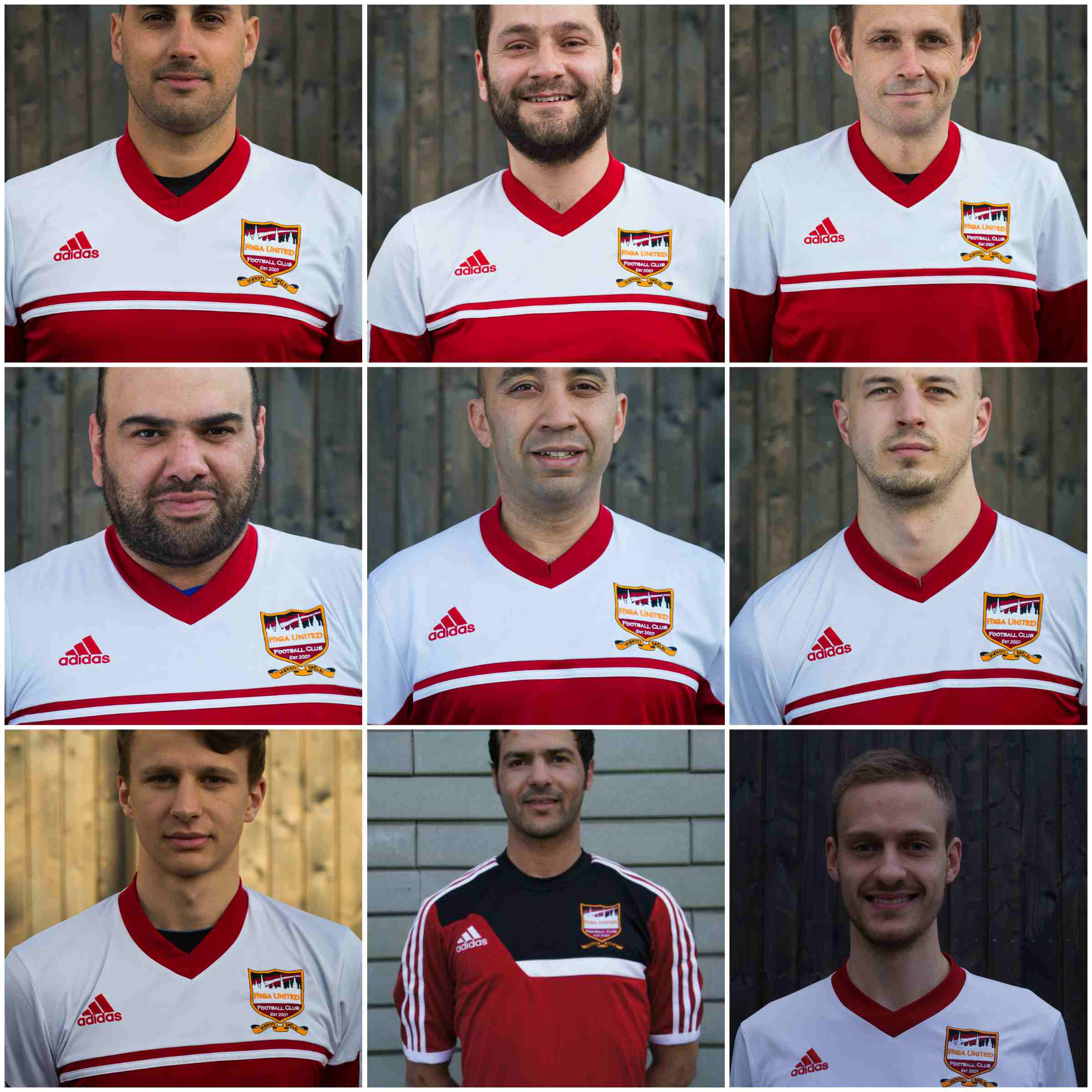 riga united players 2014