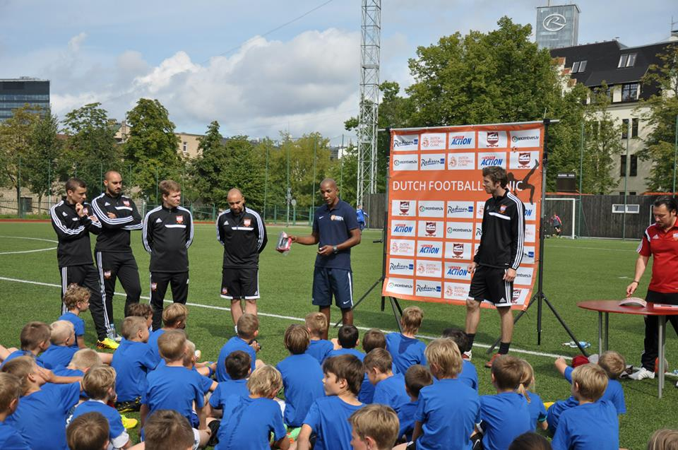 Riga United Dutch football classes