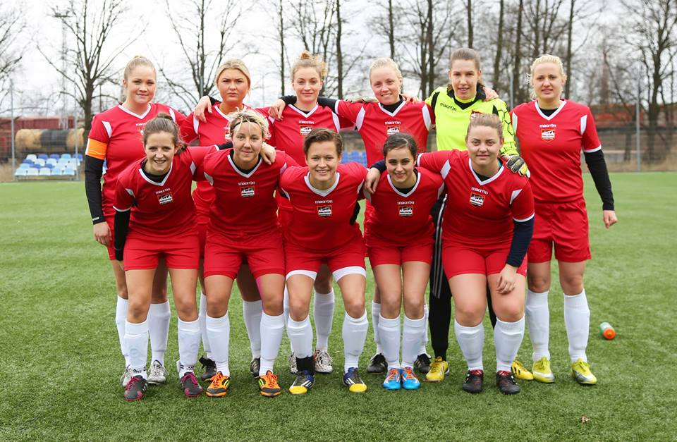 Riga United Ladies debut match