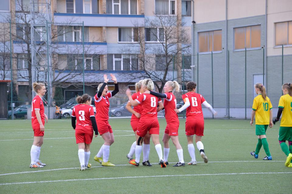 first ever riga united ladies league goal