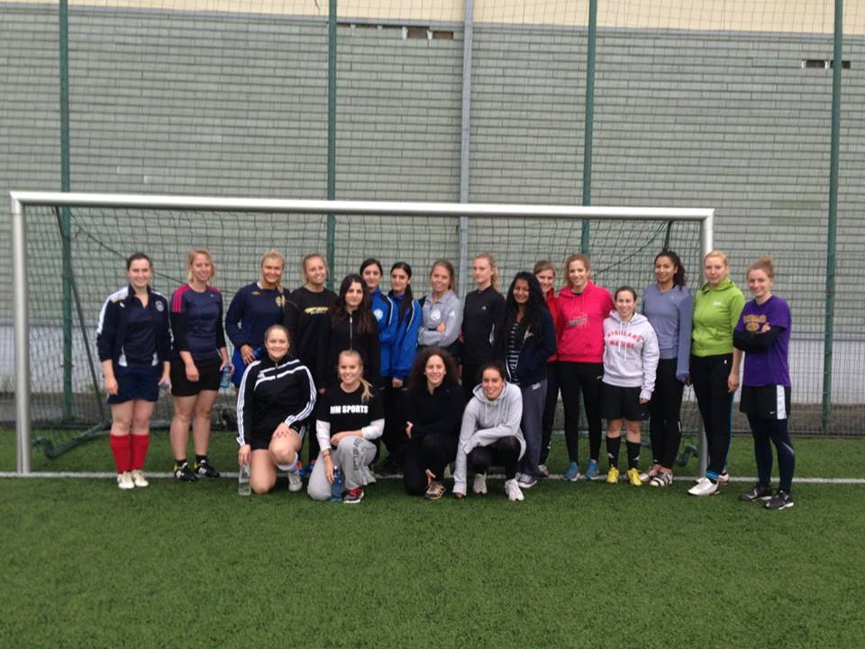 RUFC Ladies first training