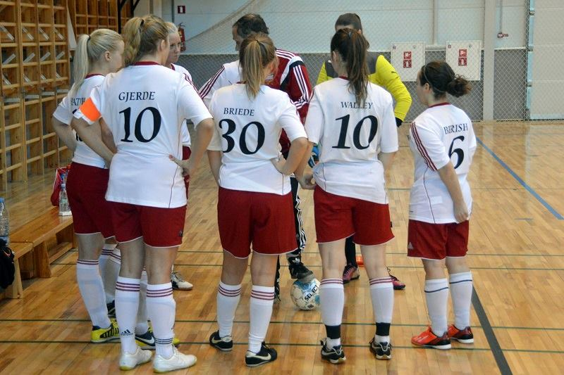 Riga United Ladies futsal team