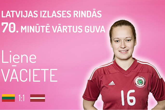 liene vaciete lithuania vs latvia