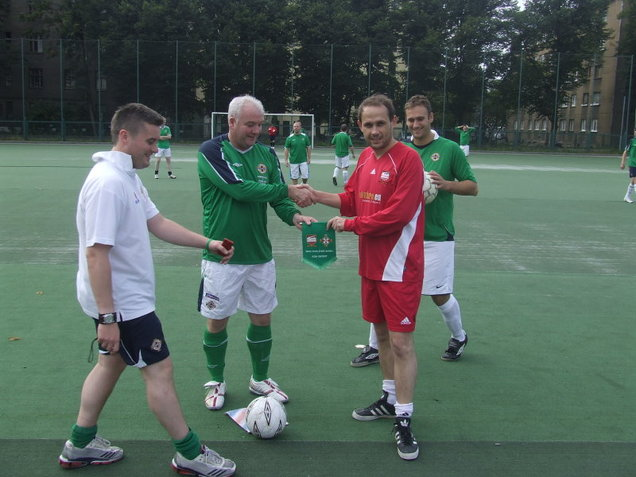 riga united northern ireland match