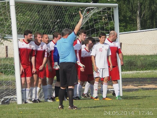 Riga United Reserves debut match 2014