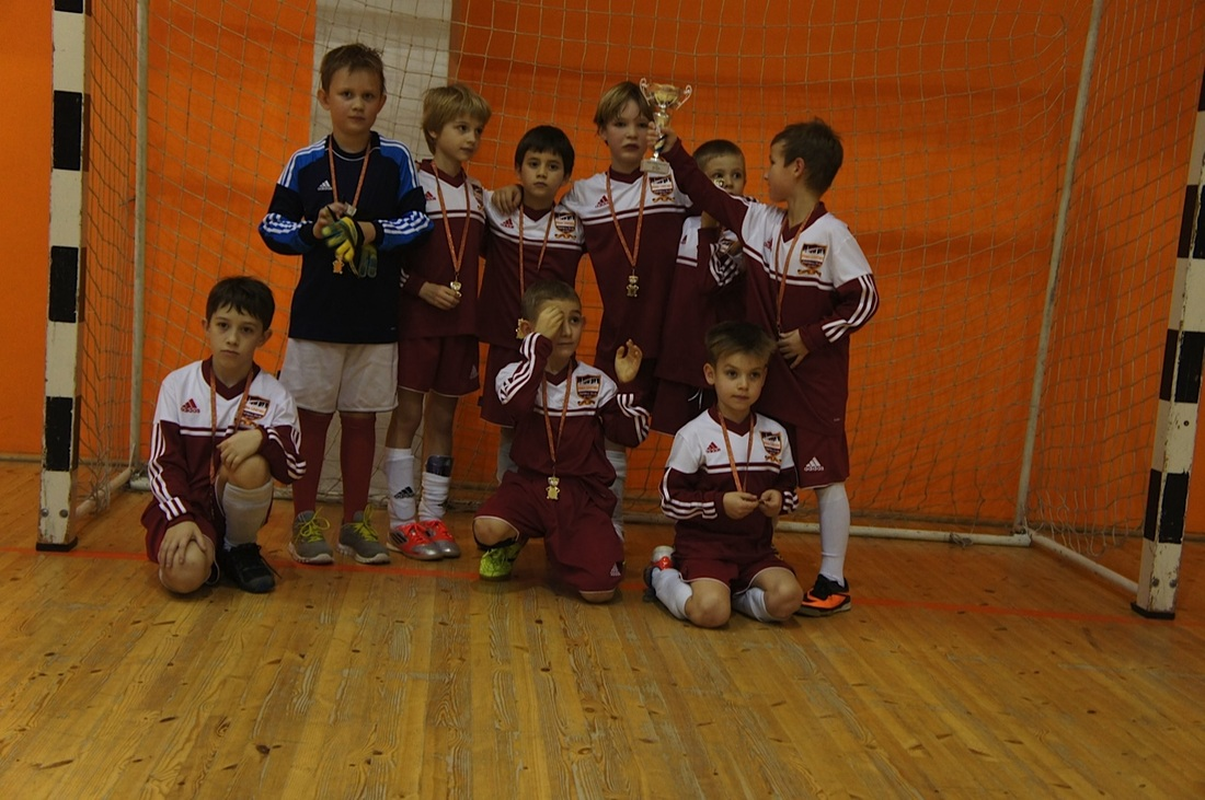 First ever Riga United Academy silverware
