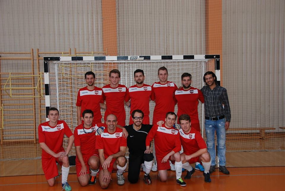 Riga United 2015 futsal team