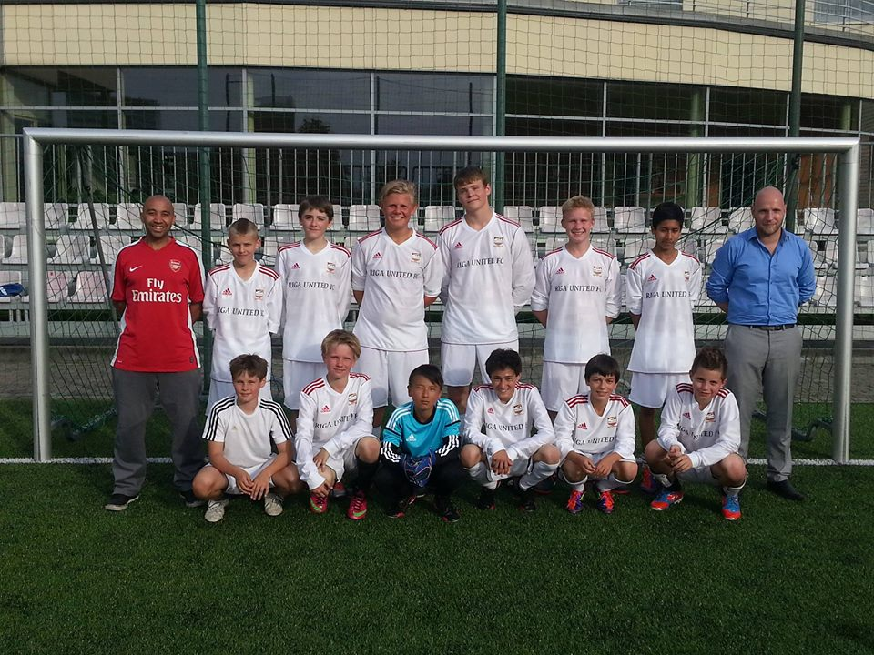 riga united youth academy 2013