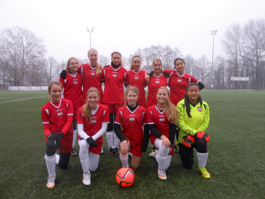 Riga United Girls Youth Team Debut 29 November 2015