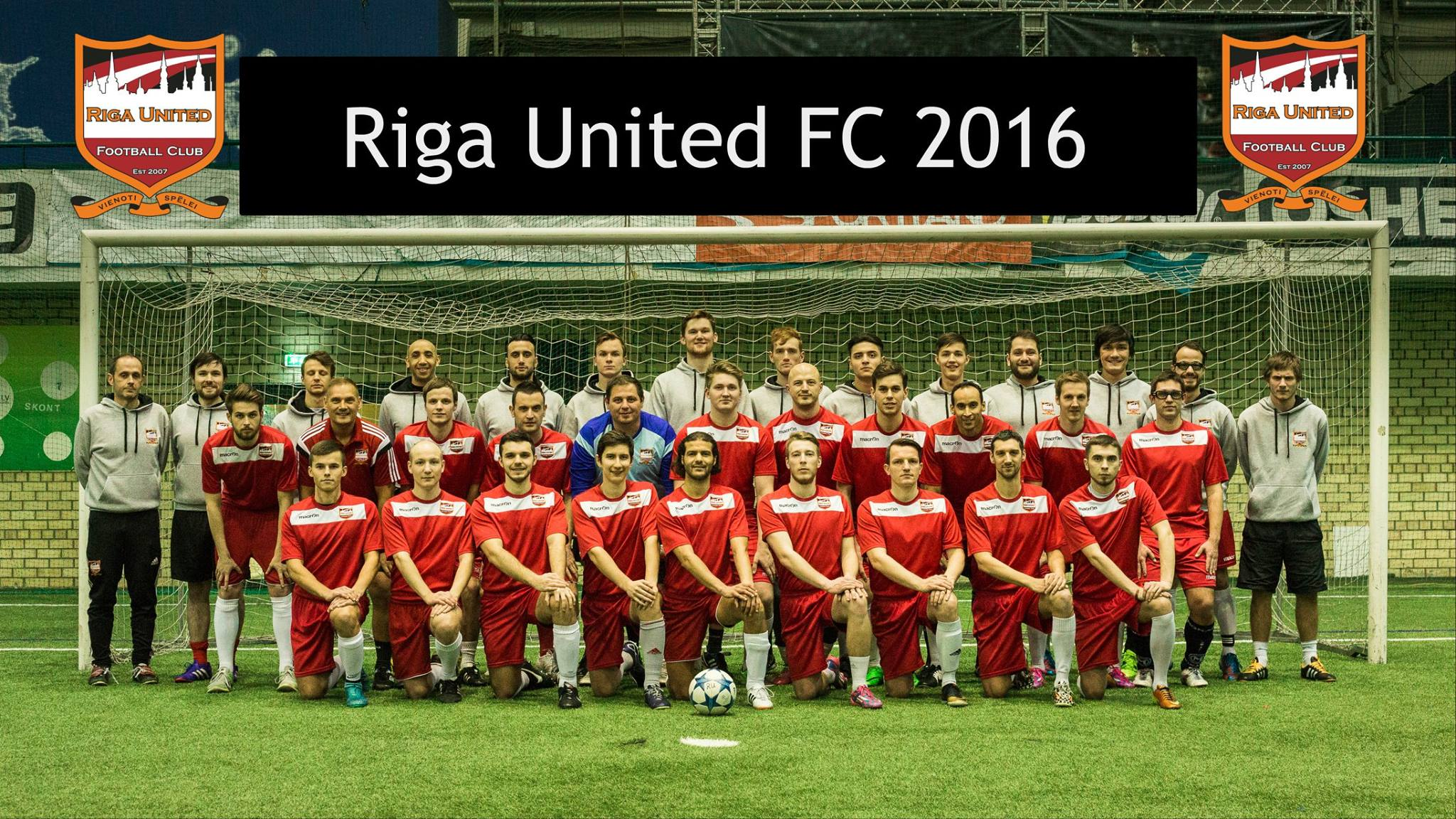 Riga United men official team photo