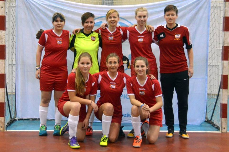 Riga United Ladies 3rd team make debut